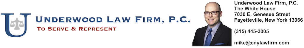 Syracuse Divorce Lawyer | Syracuse Family Law Attorneys | Underwood Law Firm, P.C. | CNYDivorce.com | BaldDivorceLawyer.com | Divorce | Custody | Child Support